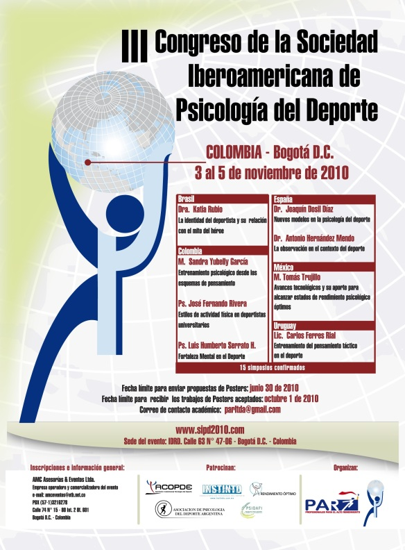 Poster del 3ºCongreso de la SIPD