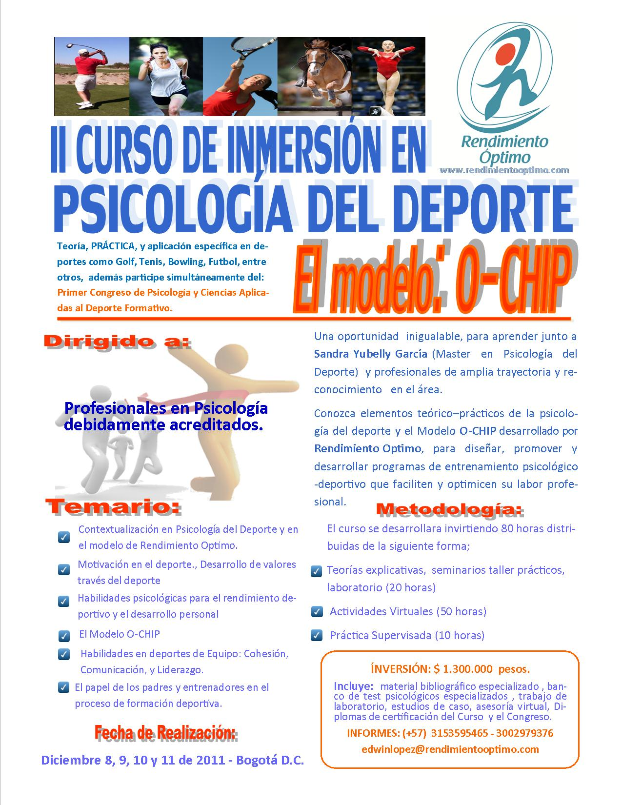Curso de psicologia df